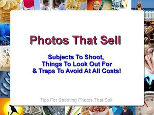 Photographs That Sell