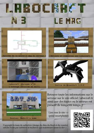 Journal de Labocraft n°3