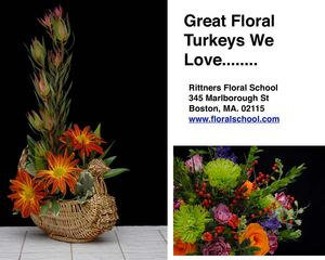 Great Turkey Floral Designs from Rittners Floral School