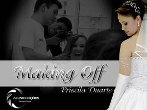 Making Off Priscila Duarte