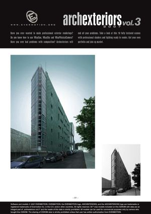 EVERMOTION ARCHEXTERIORS VOL.03