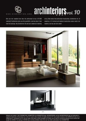 EVERMOTION ARCHINTERIORS VOL.10