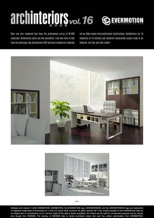 EVERMOTION ARCHINTERIORS VOL.16