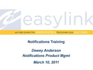 Notifications Training_SE_Asia_031011