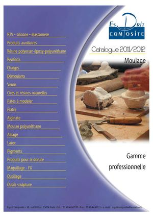 Catalogue revendeur 2011-2012
