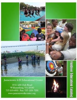 Jamestown 4-H Outdoor Education Catalog