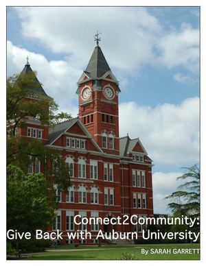 Connect2Community: Give Back with Auburn University