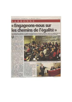 INDEPENDANT NARBONNE CONFERENCE 5 MARS 2011