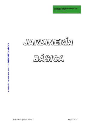 Calaméo - Curso de Jardinería Básica. CEPA Las Palmas-Ciudad Alta