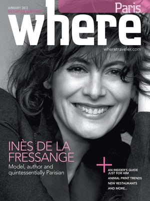 Where Paris Magazine - January 2012
