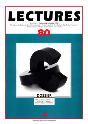 Calameo Lectures 80 Septembre Octobre 1994