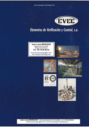Evec - Elements de controle et de verification