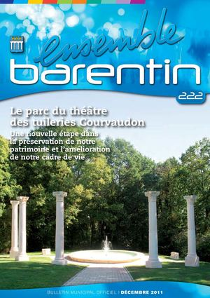 Bulletin Municipal Officiel 222 - Ville de Barentin