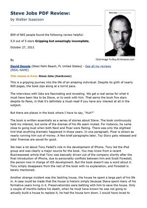 Isteve The Book Of Jobs Pdf