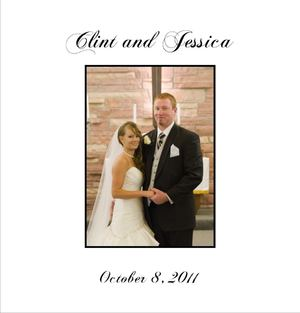 Clint and Jessica's Album Desing