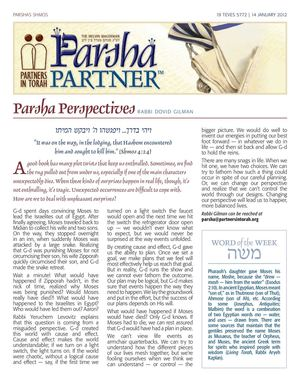 Parsha Partner | Parshas Shmos | Partners In Torah
