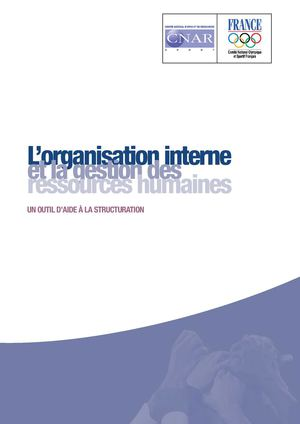 organisation interne - grh volume 2