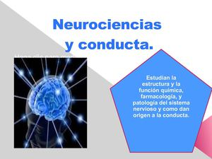 Neurociencias y conducta