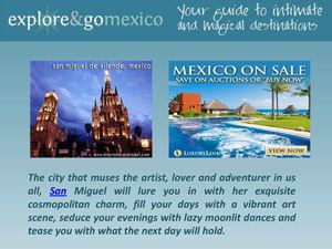 The Best Mexico Vacation Spot For Great Trips