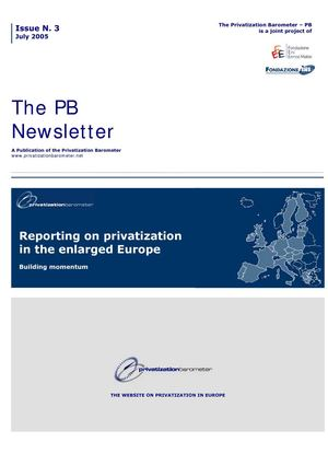 PB N3 - Reporting on privatization in the enlarged Europe