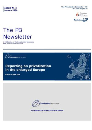 PB N4 - Reporting on privatization in the enlarged Europe
