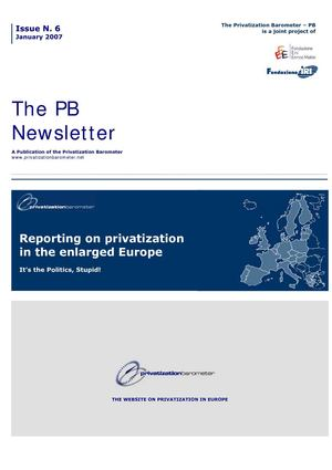 PB N6 - Reporting on privatization in the enlarged Europe