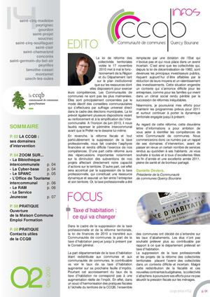 Journal d'information CCQB n°2