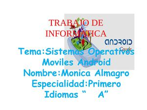 sistemas operativos moviles andriod
