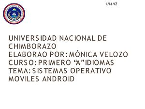 sistema operativos moviles android