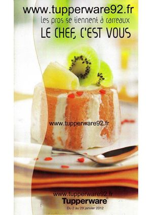 Tupperware92.fr Promos Janvier 2012 - Tupperware 92 Reunion Atelier Hotesse Conseillere Culinaire