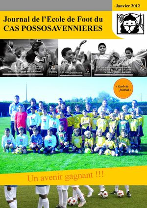 Journal de l'école de football du CAS POSSOSAVENNIERES
