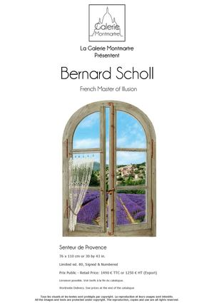 Catalogue Edition Bernard Scholl