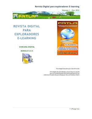 REVISTA DIGITAL PARA EXPLORADORES E-LEARNING