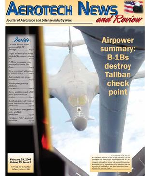 Aerotech News & Review Feb 29, 2008