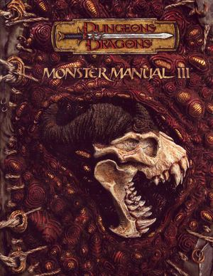 Dungeon and Dragons Monster Manual III