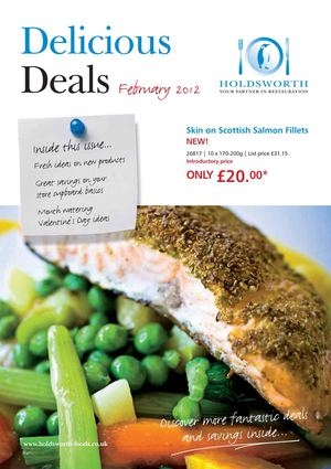 Holdsworth offers February 2012