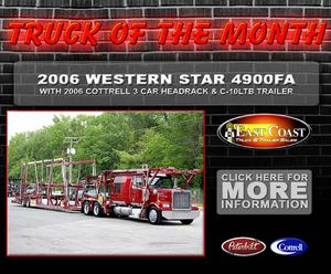 Carhauler : Truck of Month : Cottrell Trailer for Janaury February 2012