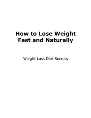 Weight Loss Diet Secrets