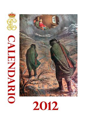 Calendario Guardia Civil 2012