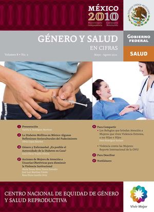 Vol.8 No.2 May-Ago 2010  Género y Salud en Cifras
