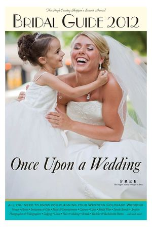 Once Upon a Wedding Bridal Guide 1.18.12