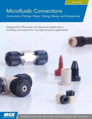 Idex microfluidic connections brochure