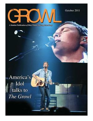 The Growl - Oct. 2011