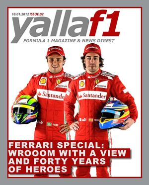 YallaF1 Magazine - 18 January 2012