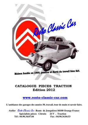 Catalogue Resto Classic Car