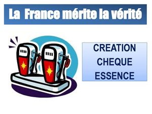PROJET CHEQUE CARBURANT