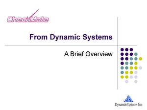 Dynamic Systems Barcode Tracking Solutions