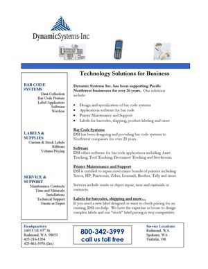 Dynamic Systems Tracking Systems