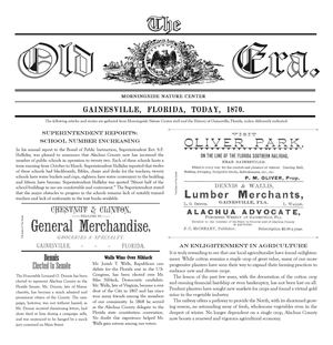 Living History Farm Newspaper, today in 1870