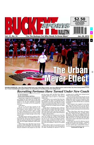 Buckeye Sports Bulletin January 28, 2012 Print Edition